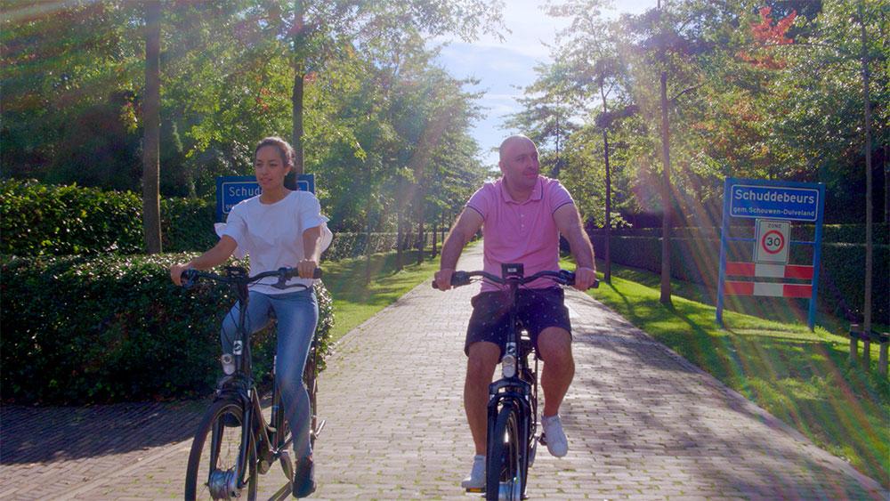 Omgeving fietsers